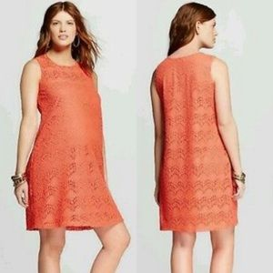 Maternity Dress A-Line Crochet Medium Tank Dress